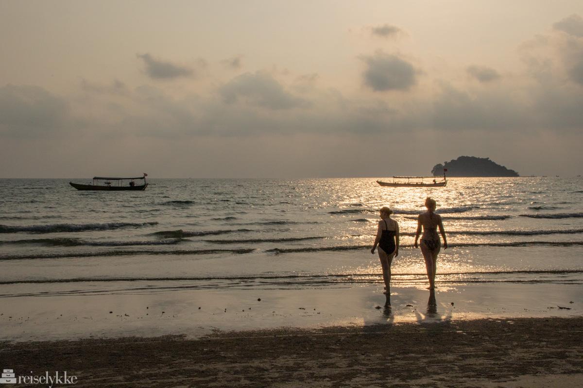 Strandliv i Kambodsja