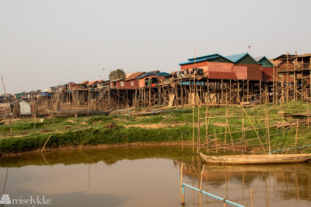 landsby ved Tonlé Sap