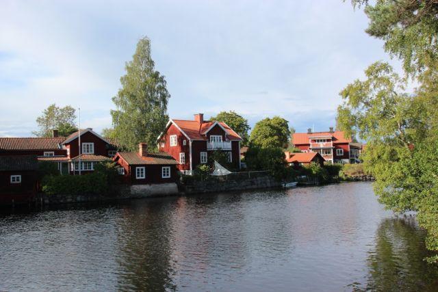 Sundbornsåns dalgång ligger i Kopparbergslagen og er en bergmanns bygd