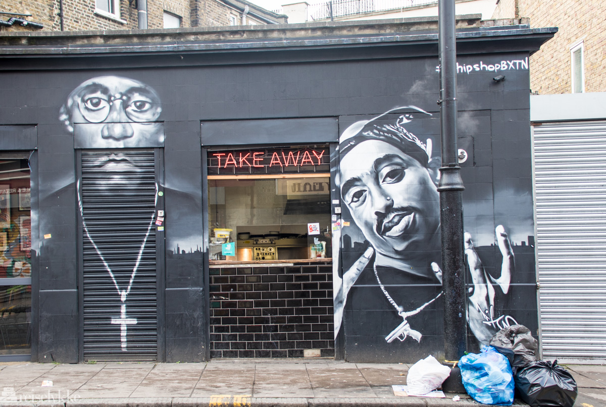 Take Away i Brixton, London
