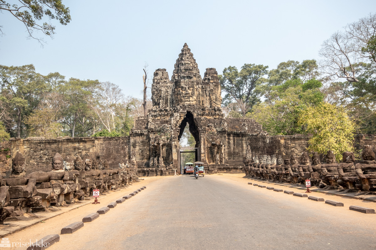 Templene i Angkor