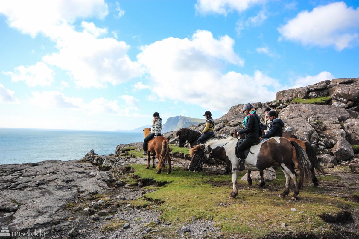 Til hest på Færøyene