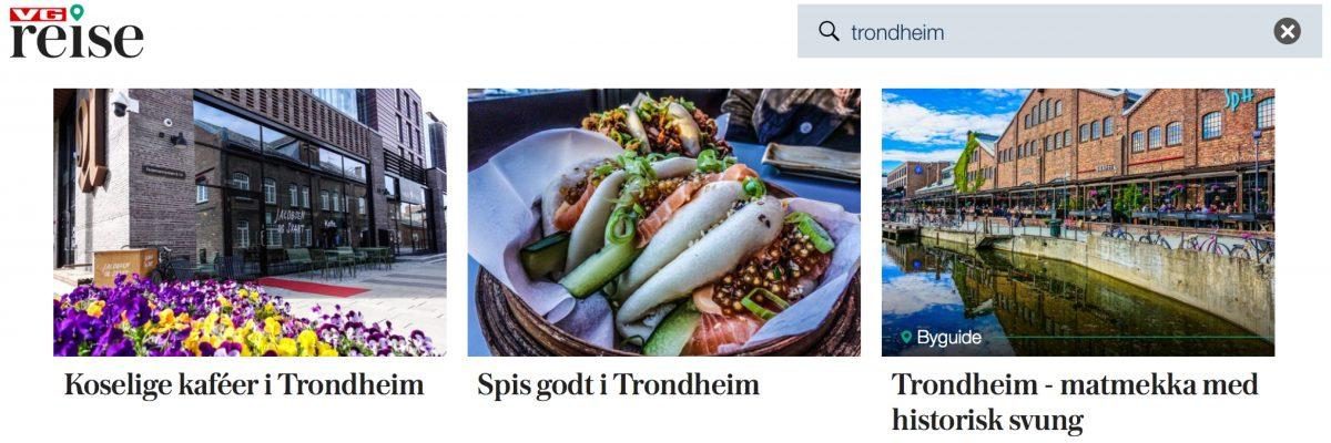 Trondheim i VG Reise