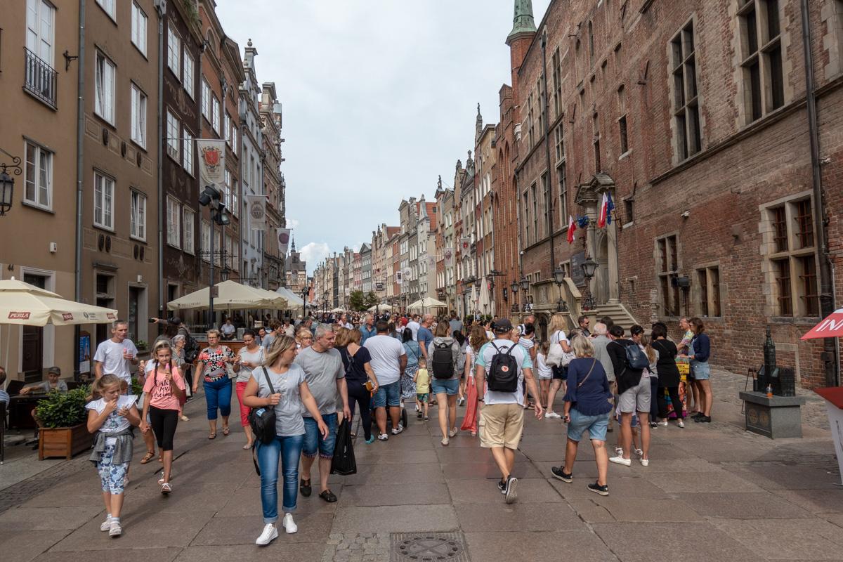 Turister i Gdansk