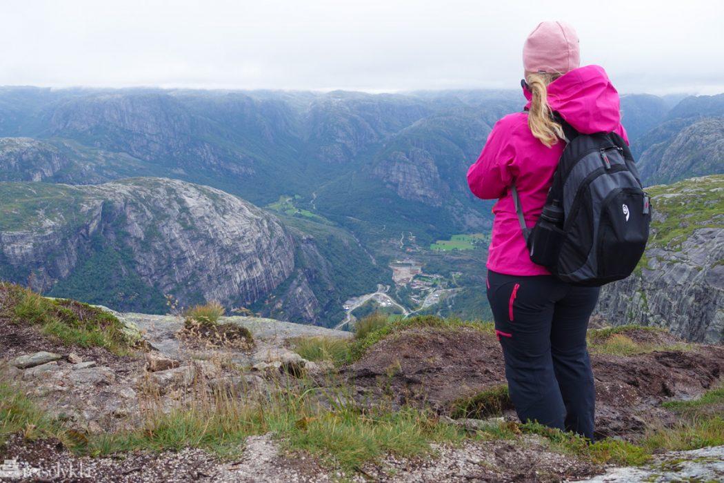 Utsikt til Lysebotn