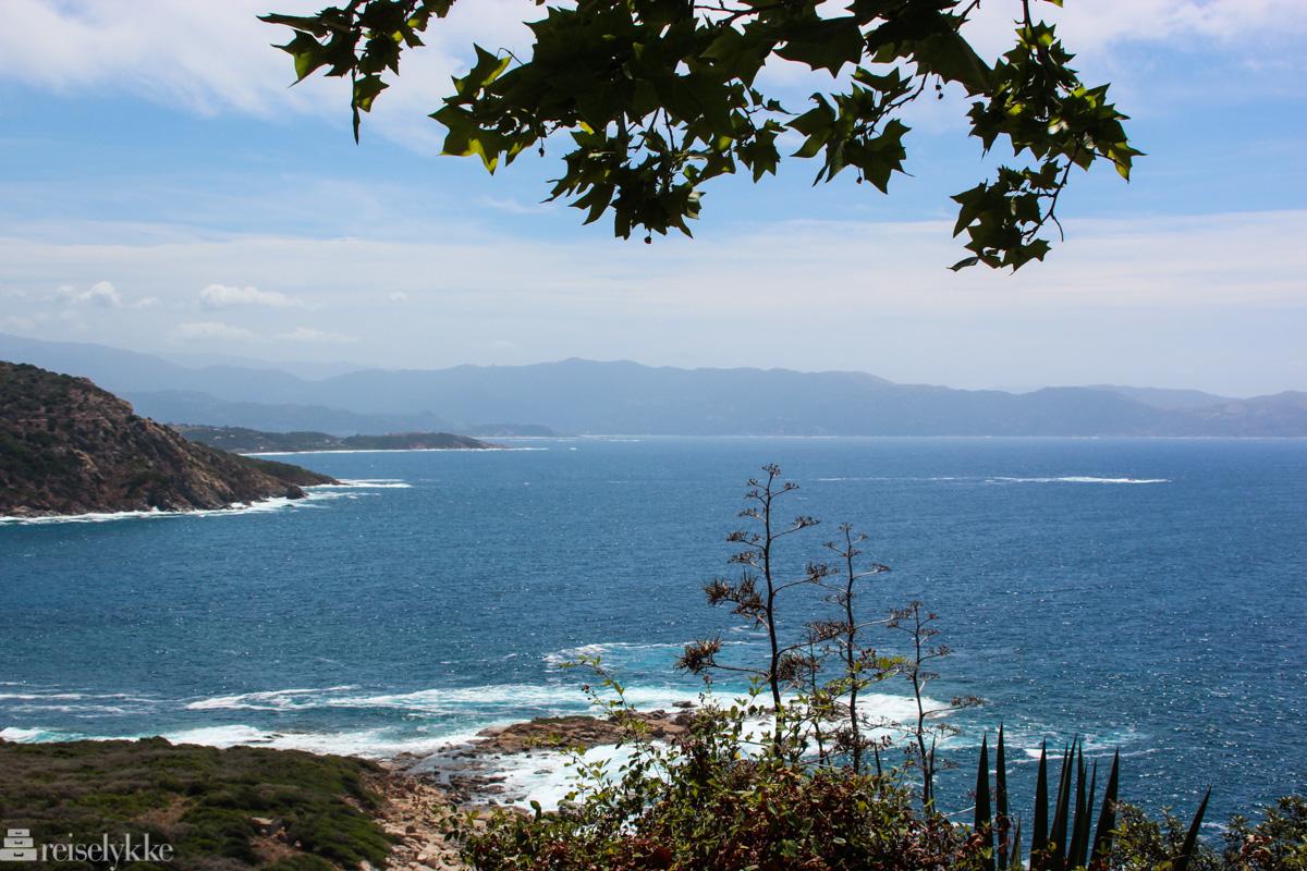 Utsikt ved Cargése, Korsika