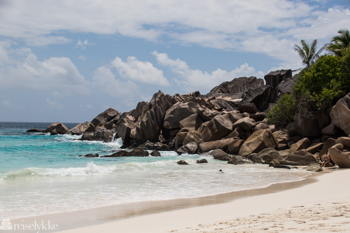Vakre Petit Anse La Digue Seychellene
