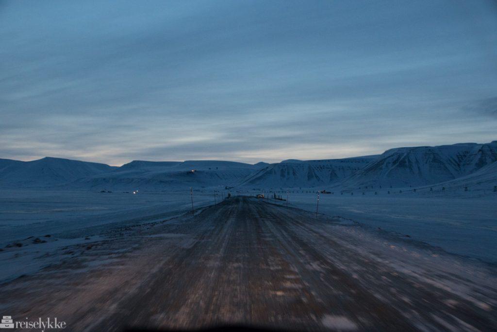Vei på Svalbard