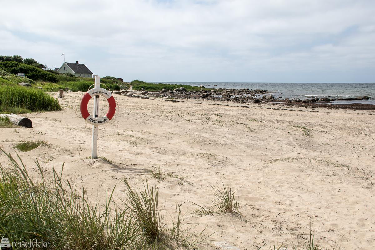 Vilsherad strand ved Halmstad