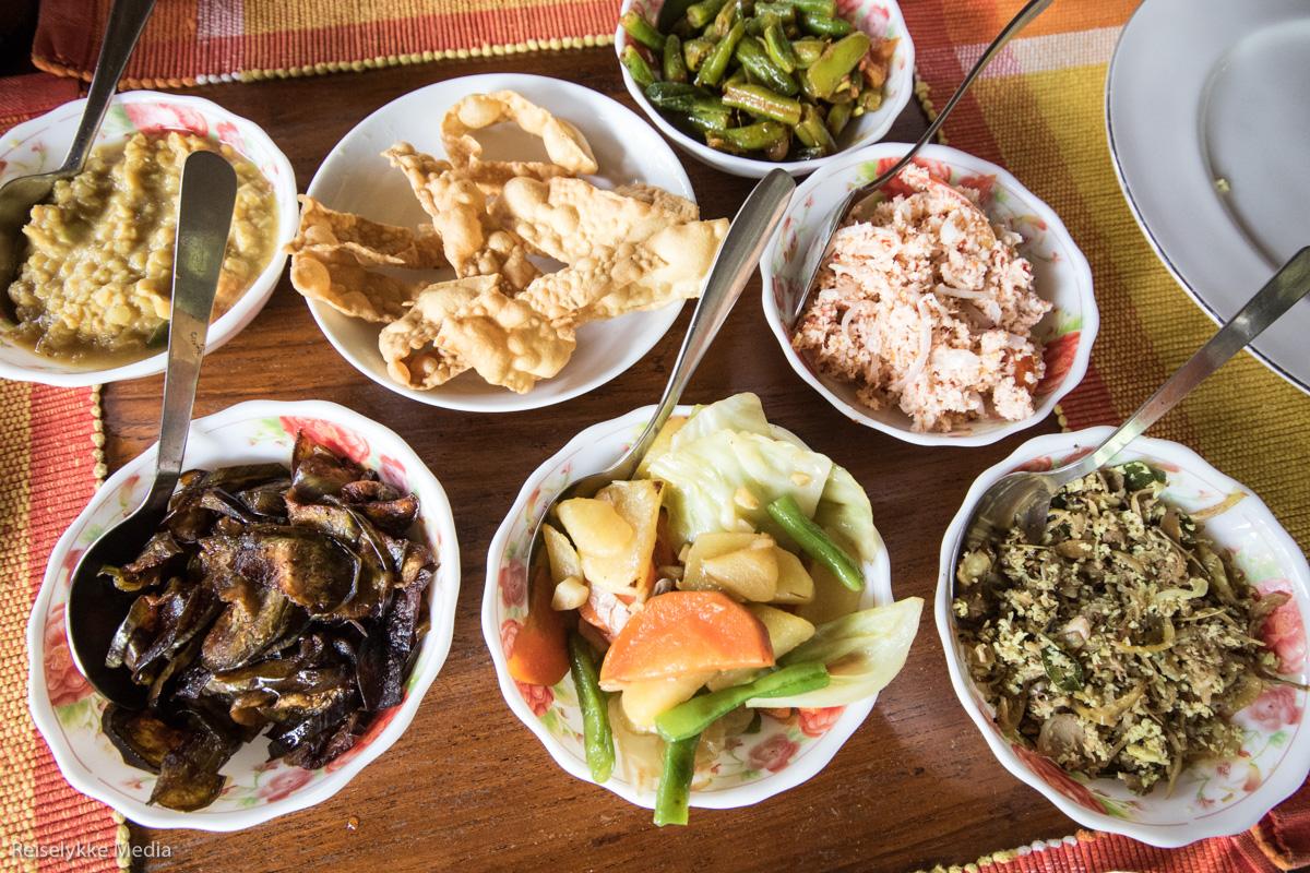 sri lankan curry - en av flere gode grunner til å reise til Sri Lanka